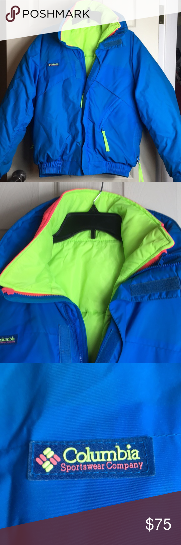Columbia bugboo us jacket with shell zips in my posh picks