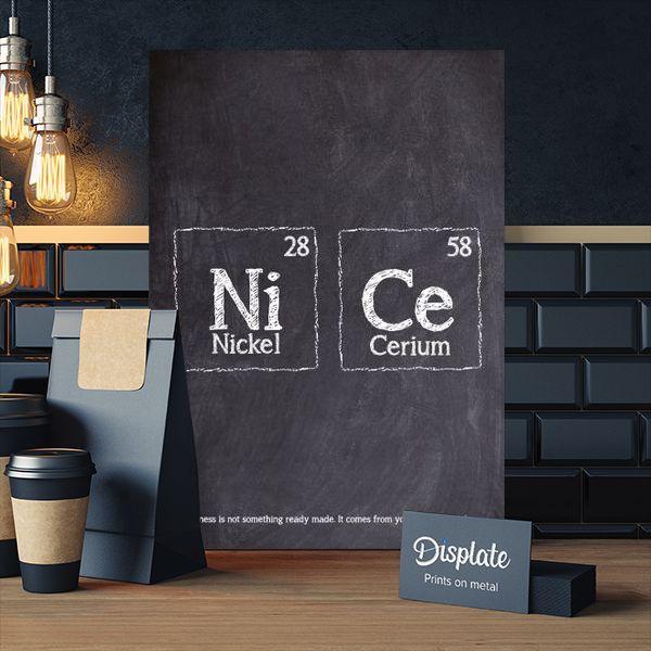 Metal Poster Nice Periodic Table thumbnail