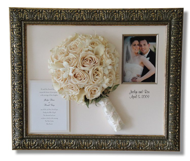 Shadow Box Frames Flowers