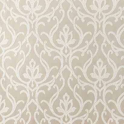 dazzled wallpaper in metallic and beige design by candice olson - Wallpaper Wall Designs