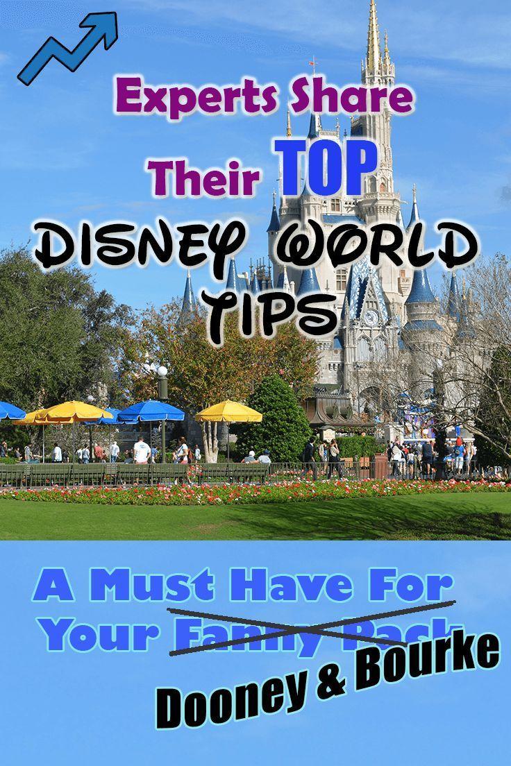 Experts share their Top Walt Disney World TIPS.