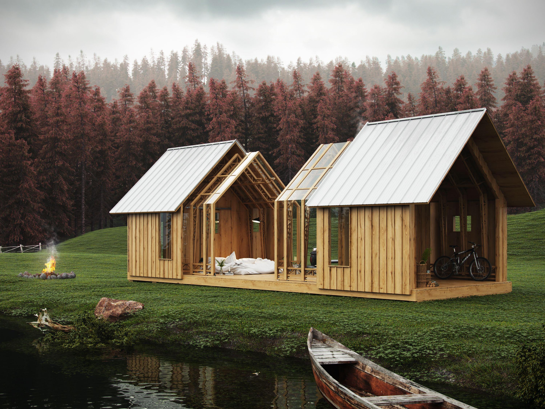 Scwélf Garden House | Render exteriors | Home, garden, House