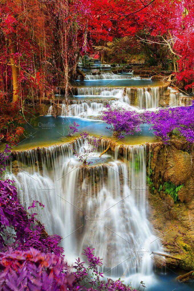 waterfall pushish