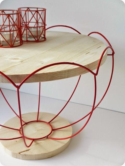 Diy upcycling transformer un vieil abat jour en for Diy art deco furniture