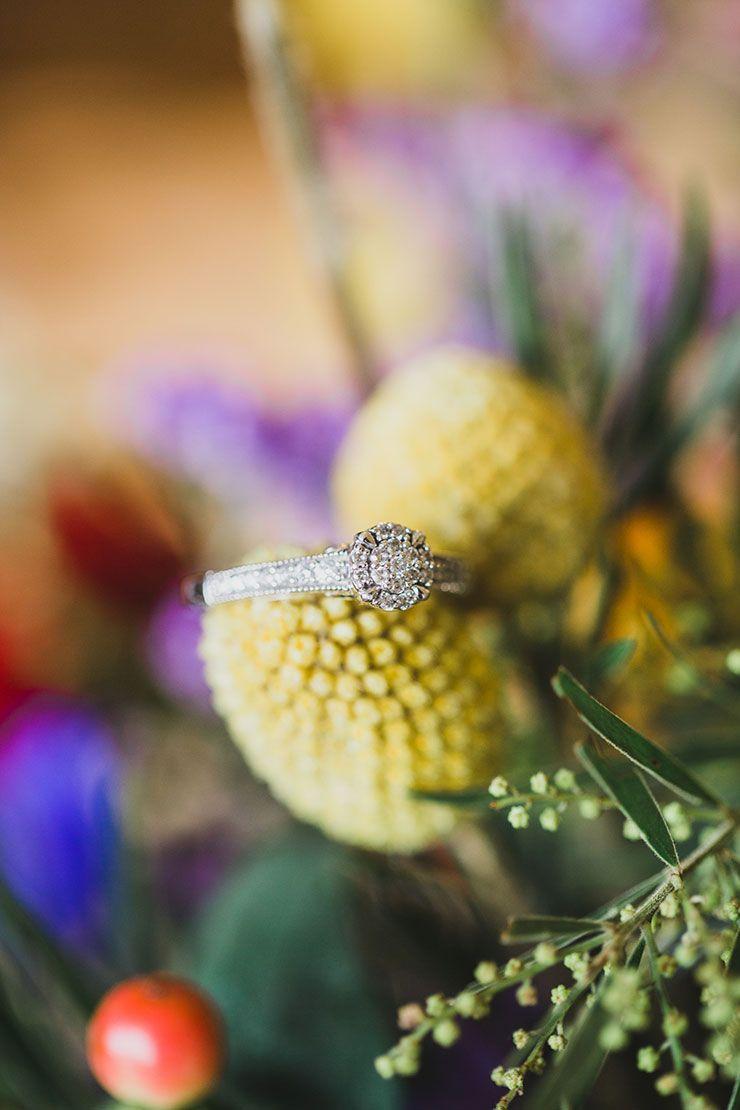A Bright Whimsical Vintage Wedding