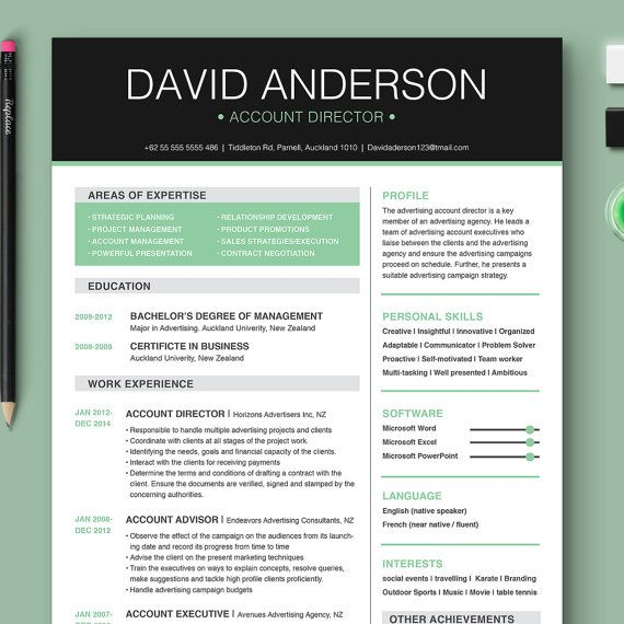 resume cover letter reference page microsoft by toptemplate - Resume Cover Letter Font Style