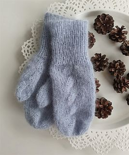 Photo of Autumntwist mittens