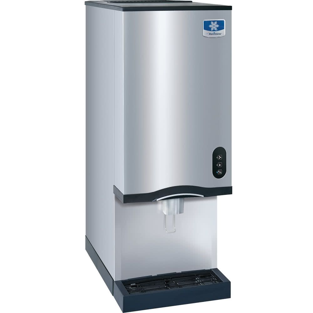 Manitowoc RNS-20A Air Cooled Countertop Ice Maker and Water ...