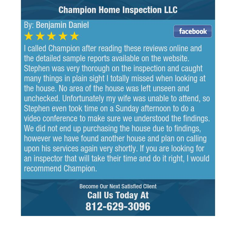 I called Champion after reading these reviews online and the