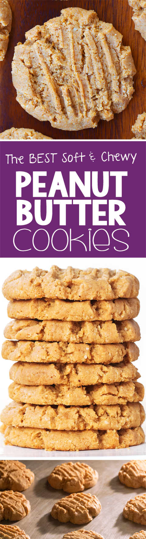 The BEST Peanut Butter Cookie Recipe!!!