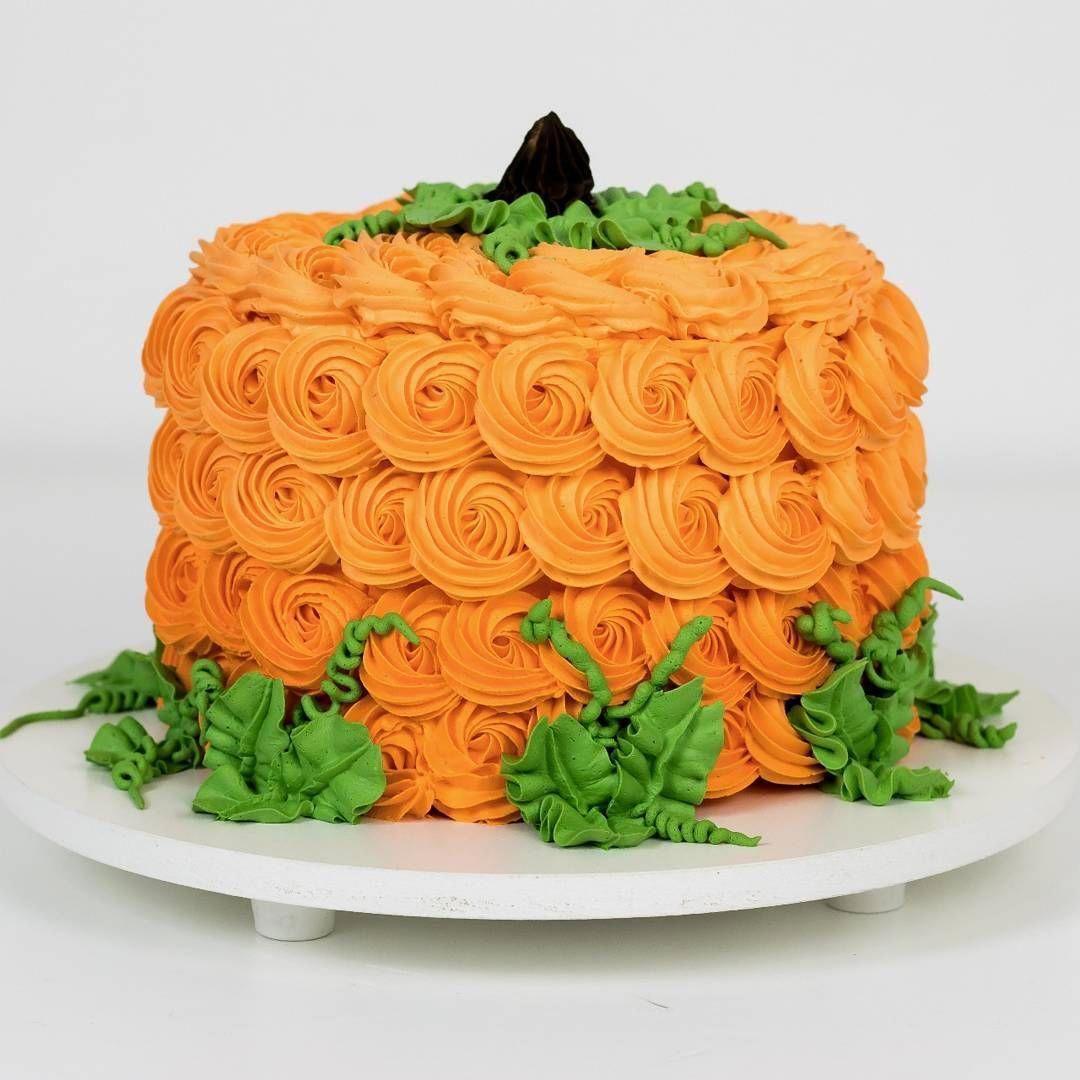 Cute Pumpkin Cake Fall Cakes Decorating Halloween Cakes