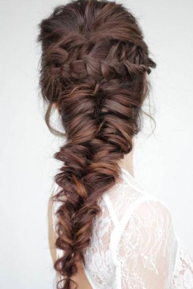 Braid Hairstyles Mermaid Braid Tutorial Braided Hairstyles For Wedding Cowgirl Hair Styles Long Hair Wedding Styles