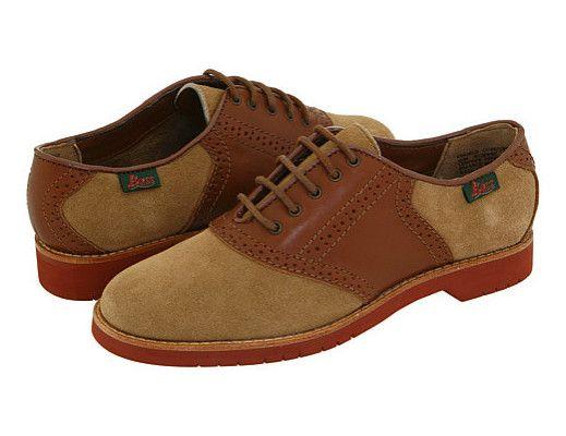 Bass Shoes Bass Enfield Saddle Shoe Driftwood ; for Women
