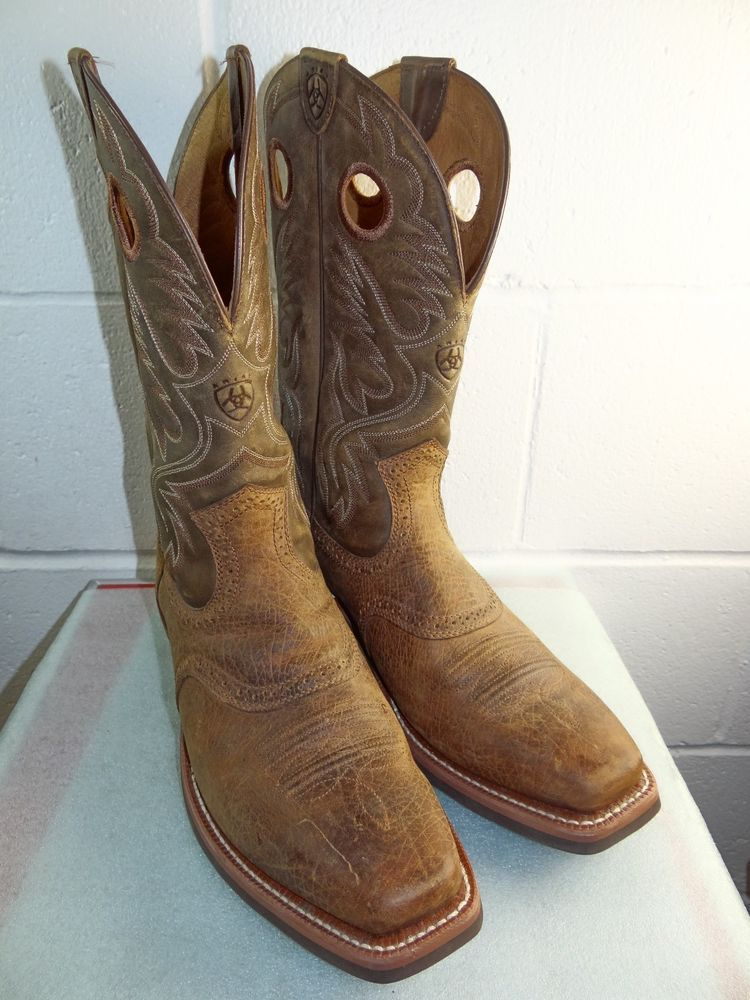 db1e3fc3781 Ariat Heritage Roughstock Cowboy Boot Earth Brown Style10002230 ...
