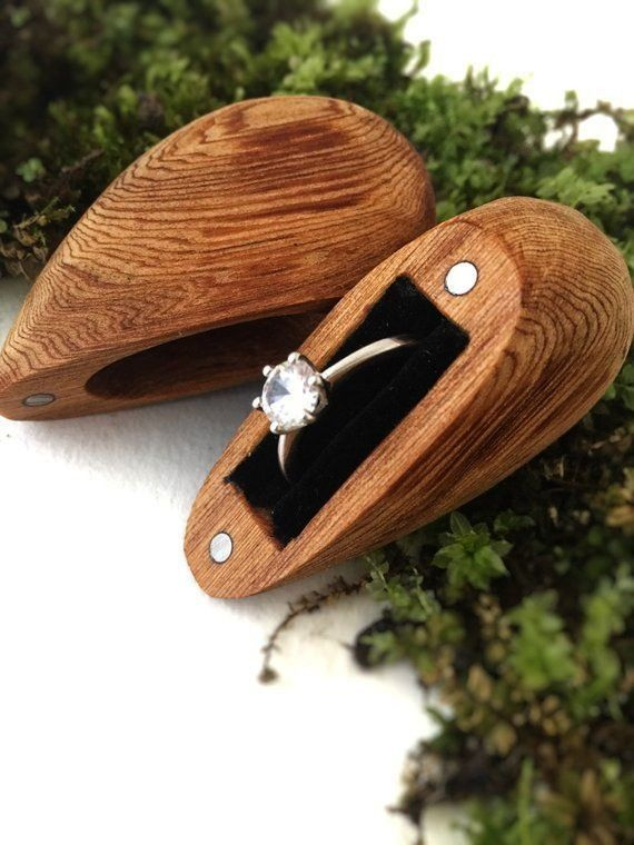 Ring Box Proposal Ring Box Wooden Ring Box Small Ring Box Made In The USA M Engagement Ring Box Proposal Ring Box Wooden Ring Box Small Ring Box Made In The USA Made with...