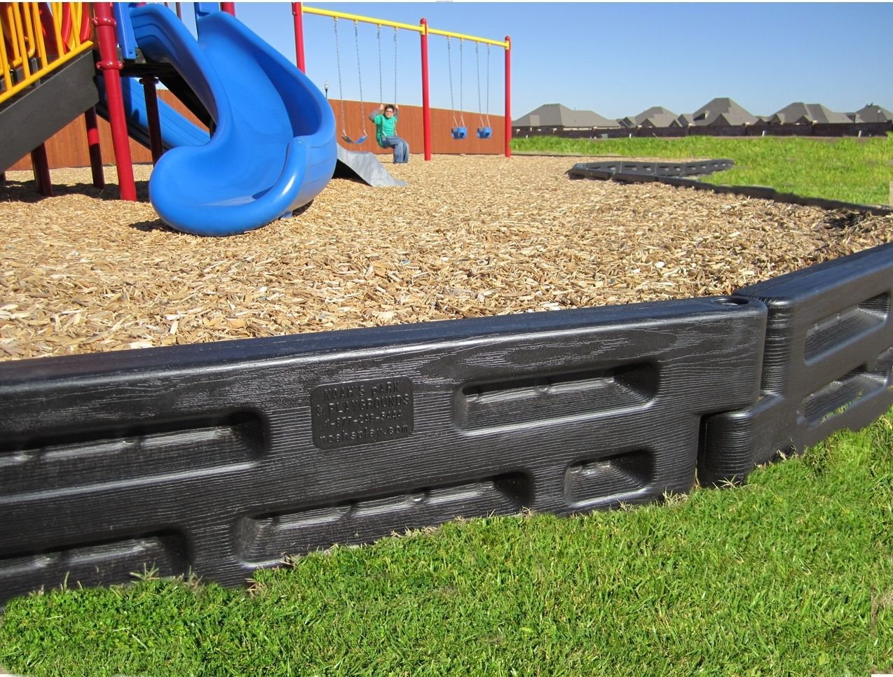 Border Timber 12 Playground Mulch Pallet Playground Wood Mulch