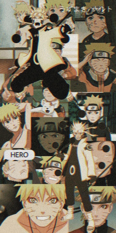 Naruto Uzumaki momentos de luta em toda sua história do anime