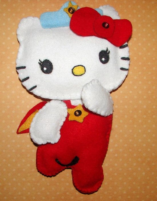 Hello Kitty Felt Craft