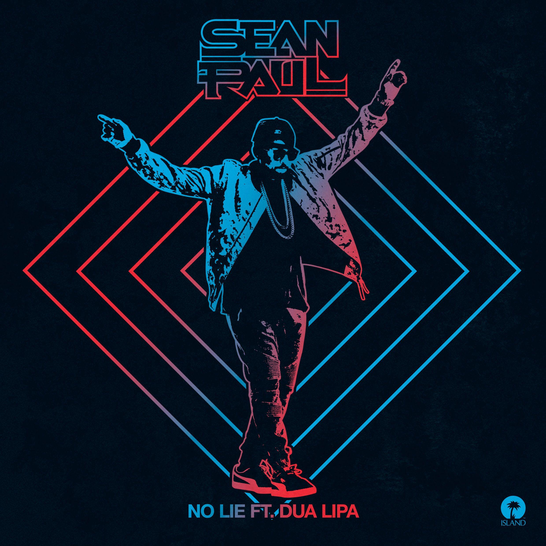 Sean Paul, Dua Lipa – No Lie (single cover art)