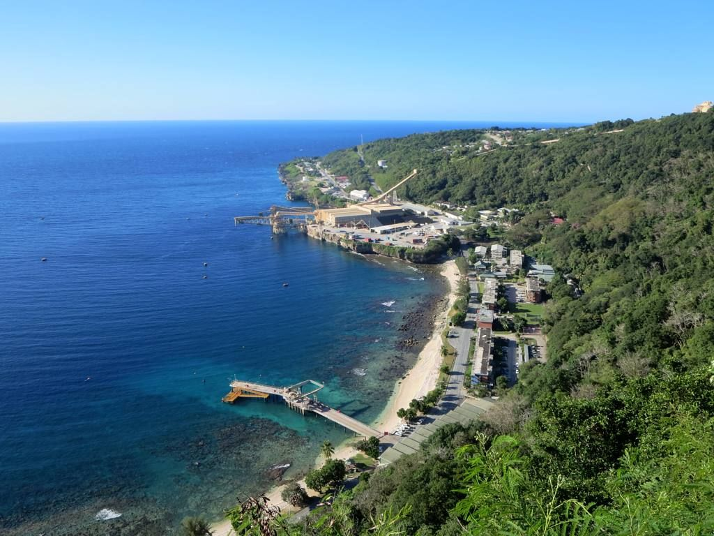 Where Is Christmas Island.In This Photo Of The Coast Of Christmas Island Australia