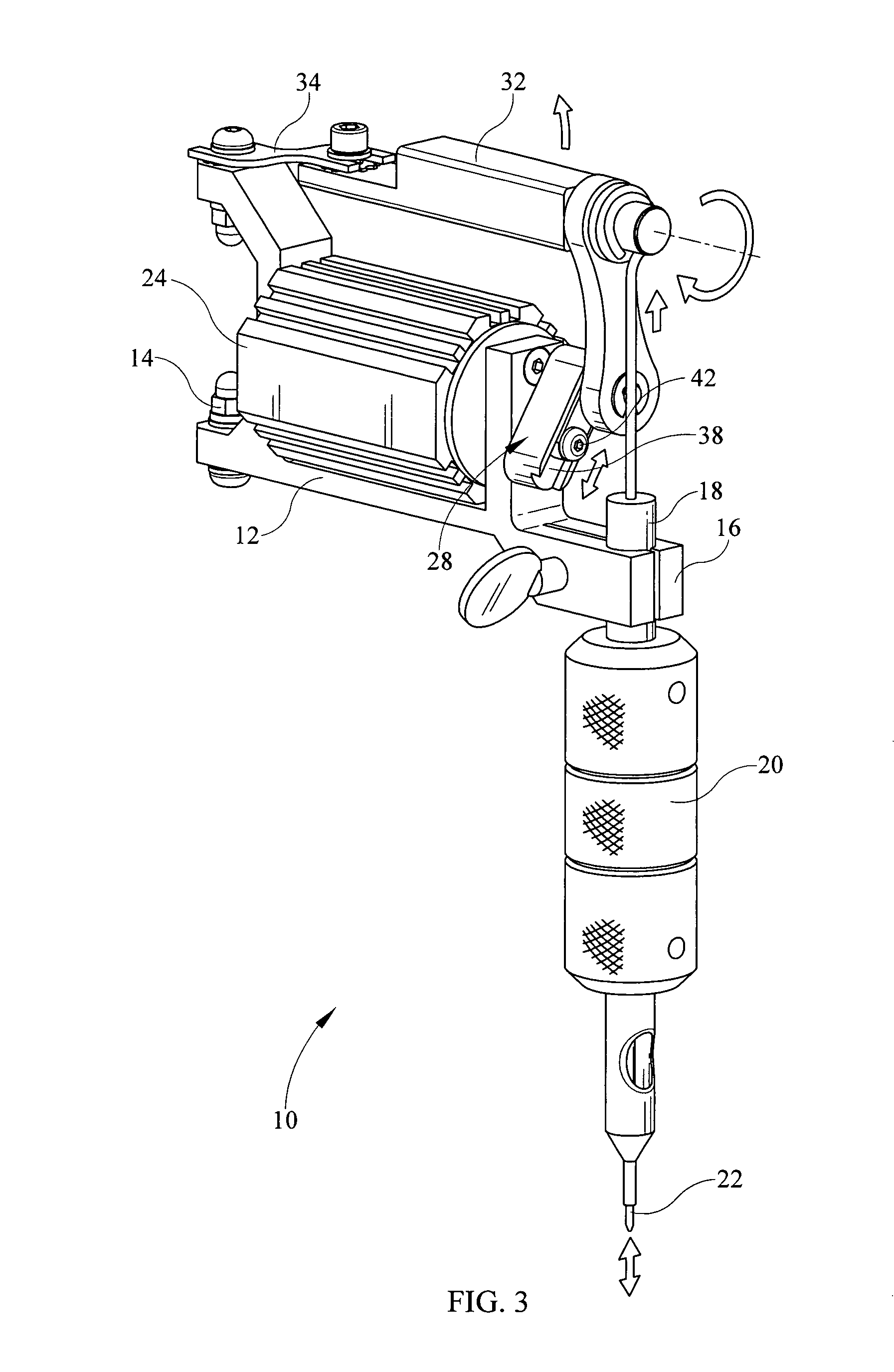 tattoo machine parts diagram