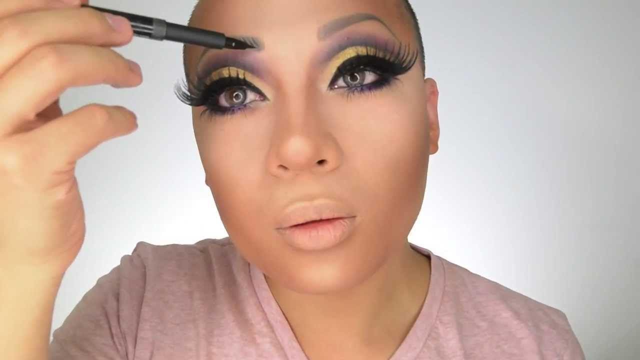 Beat your face ii drag makeup tutorial makeup and nails beat your face ii drag makeup tutorial baditri Images