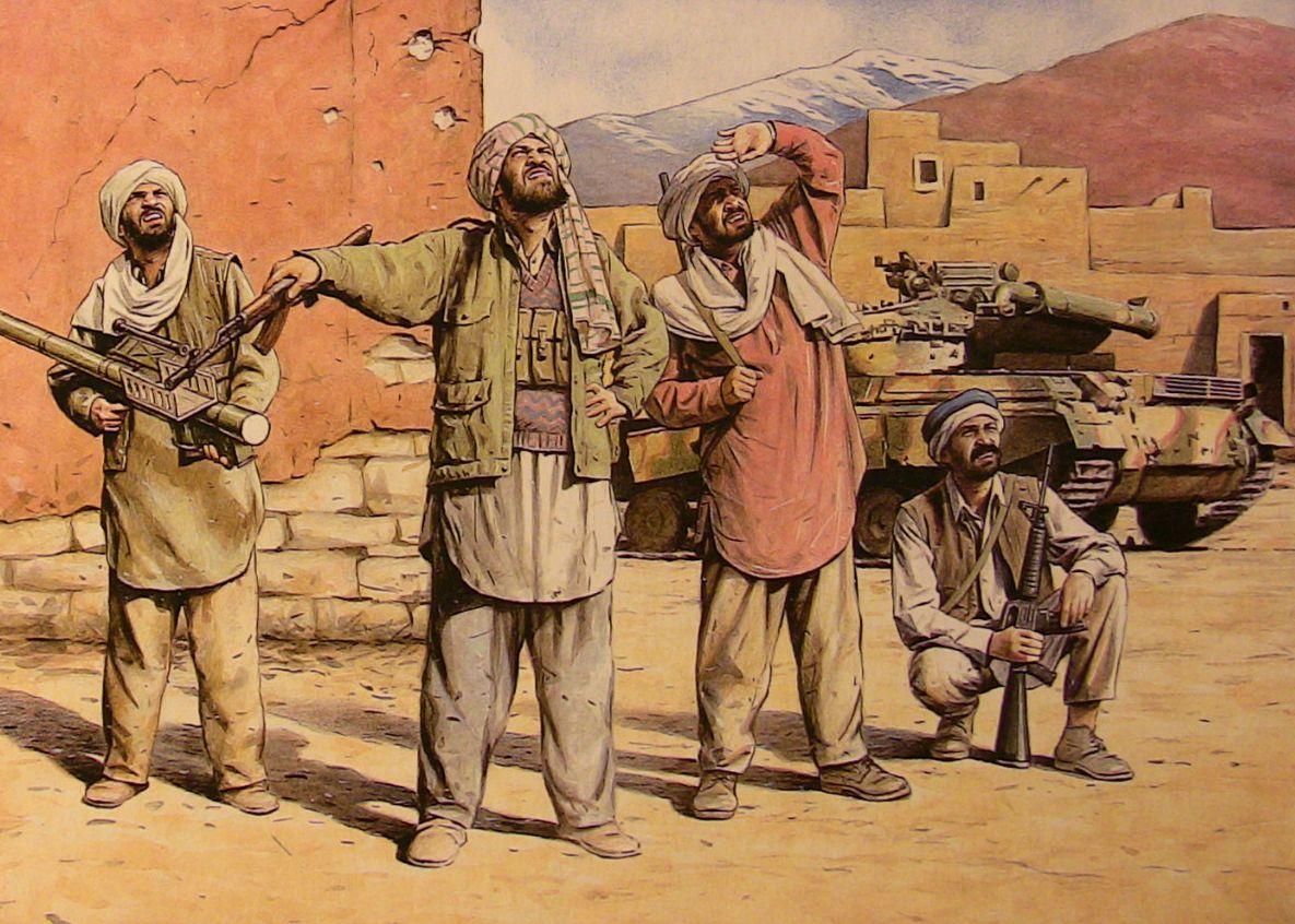 появился картинки афганские моджахеды капли том месте
