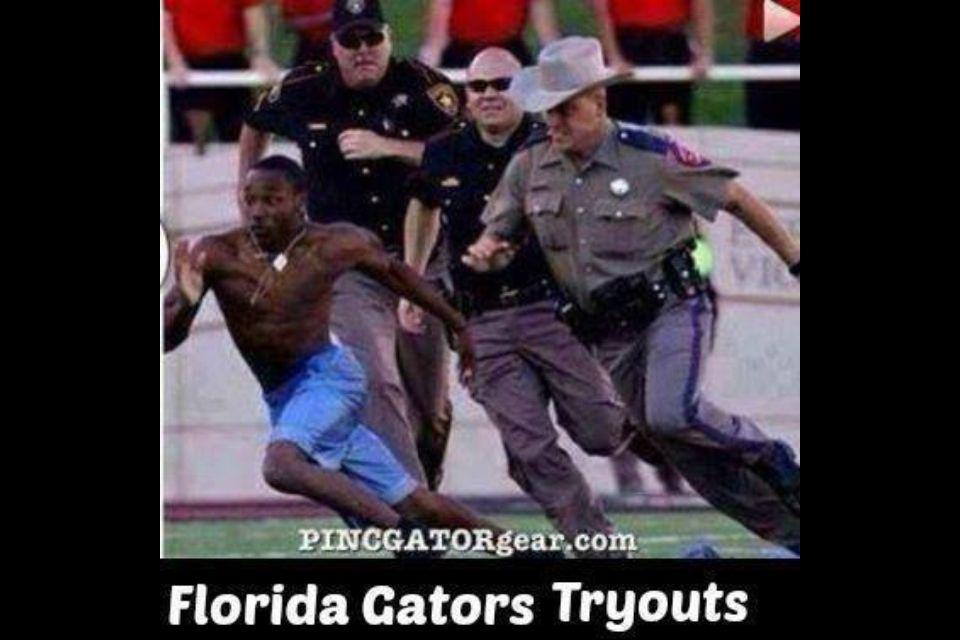 b7f5fc7edf34316b8354ac811d1a4ef3 florida gator tryouts! lol! seminoles pinterest football