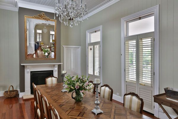 french provincial interior Google Search Dining Rooms