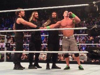 John Cena Teams with The Shield - http://www.wrestlesite.com/wwe/john-cena-teams-shield/