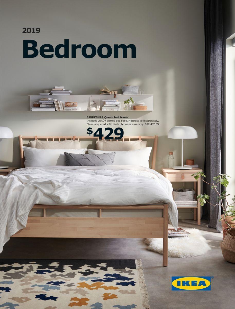 Ikea Bedroom Brochure in 10  Ikea bedroom, Bed frame, Bedroom