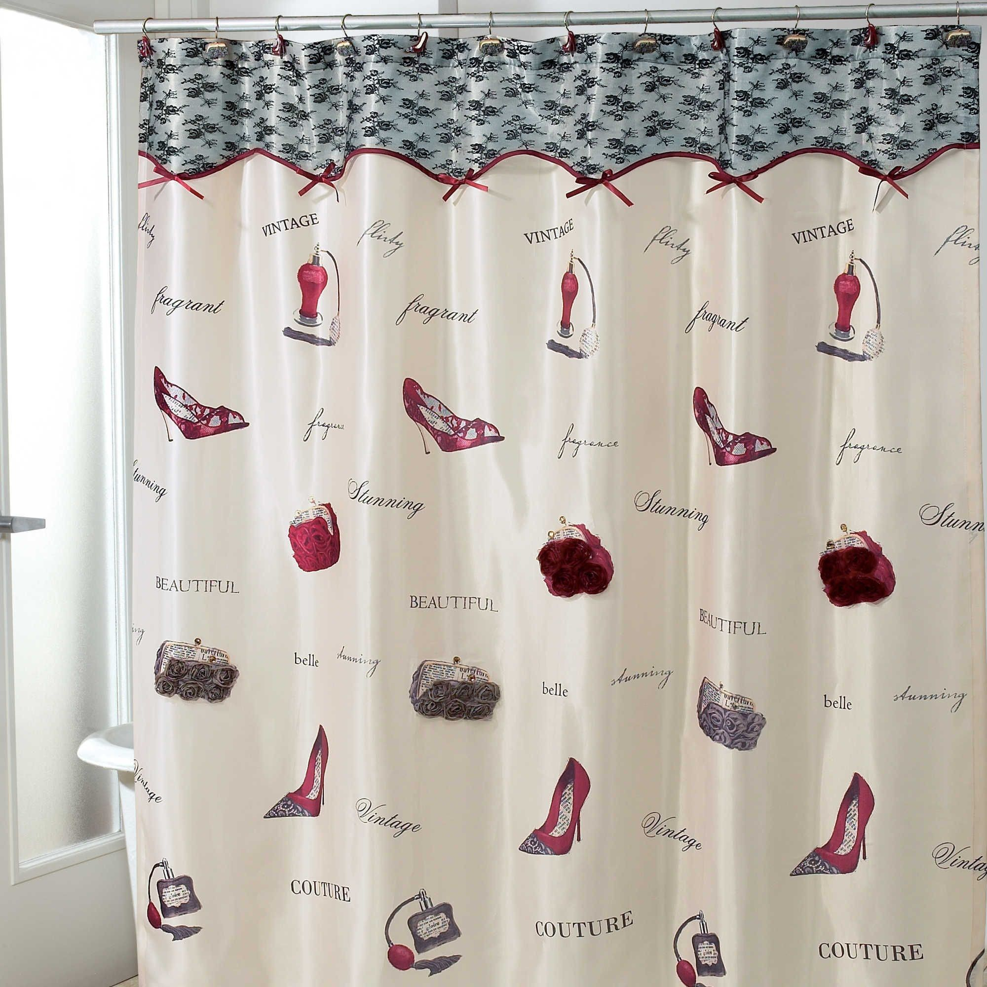 Elegant Dressed To Thrill Shower Curtain Check More At Https