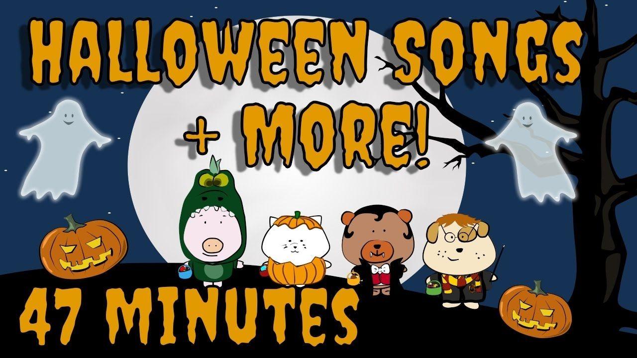 Halloween Songs Plus More Kids Song Compilation The Singing Walrus Halloween Preschool Halloween Music For Kids Halloween Songs