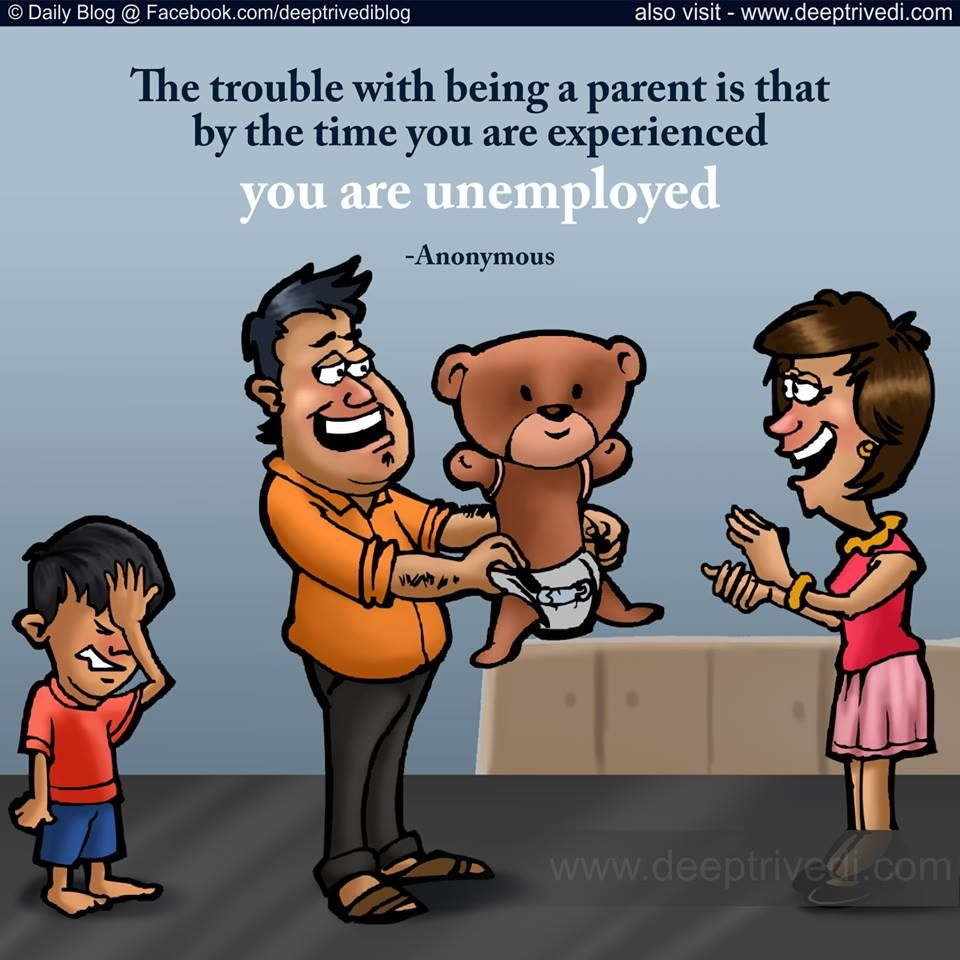 Anonymous Parents Unemployed Trouble Hindi Quote Famous