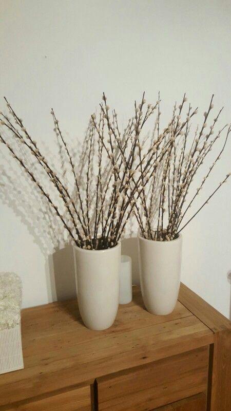 Grote vazen voor op het dressoir in de woonkamer.   interieur ideeën ...