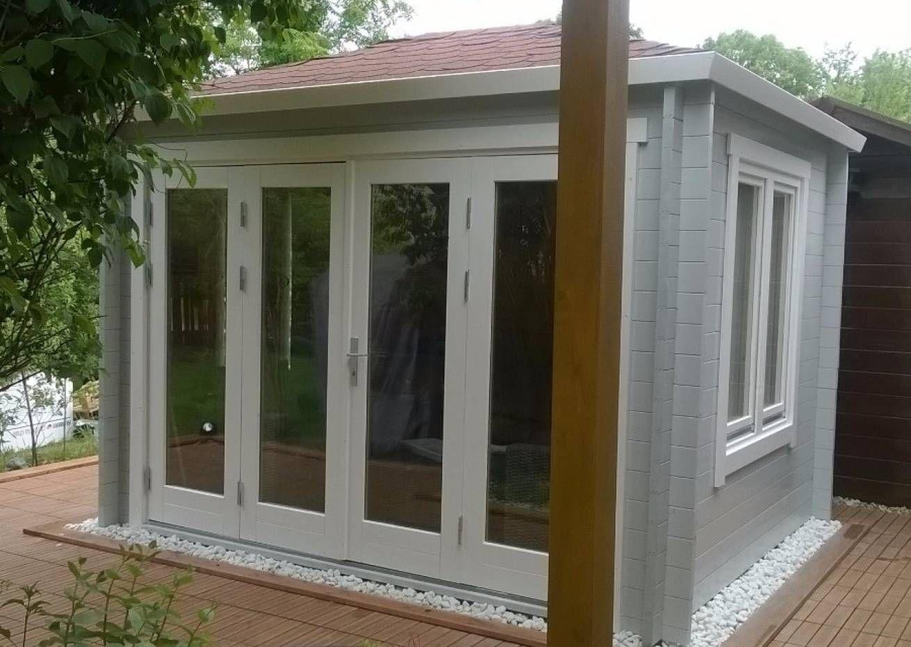 Gartenhaus Summertime40 mit großer Falttür