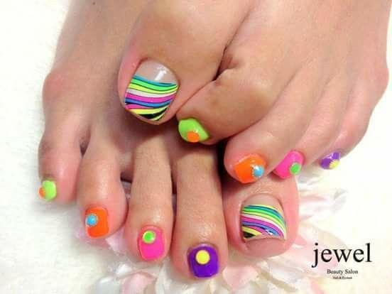 Pedicure Nailart Toe Designs Toe Nail Designs Toe Polish