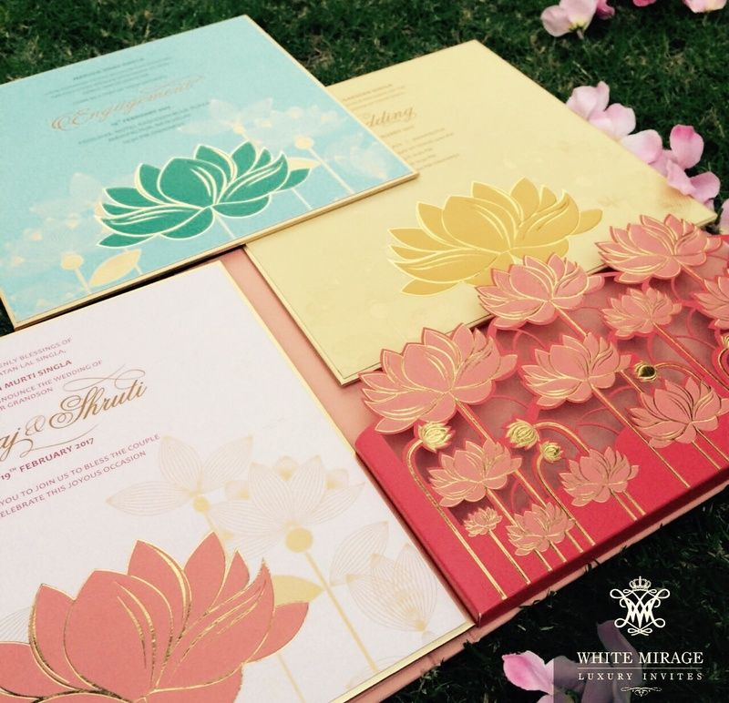3D Pastel Wedding Invitation cards 3D Pastel