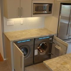Asko Panel Ready Washer And Dryer They Can Be Tucked Away