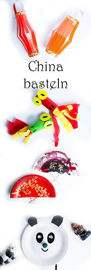 Chinesisches Neujahr mit Kindern: basteln und spielen — Mama Kreativ