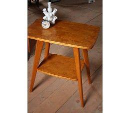 Design (bijzet) tafel met onderblad