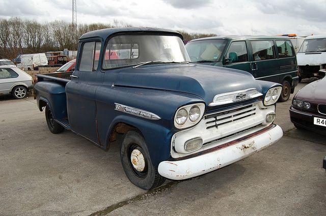 1958 Chevrolet Apache 32 Stepside Pickup Vintage Pickup Trucks 1958 Chevy Truck Chevrolet Trucks
