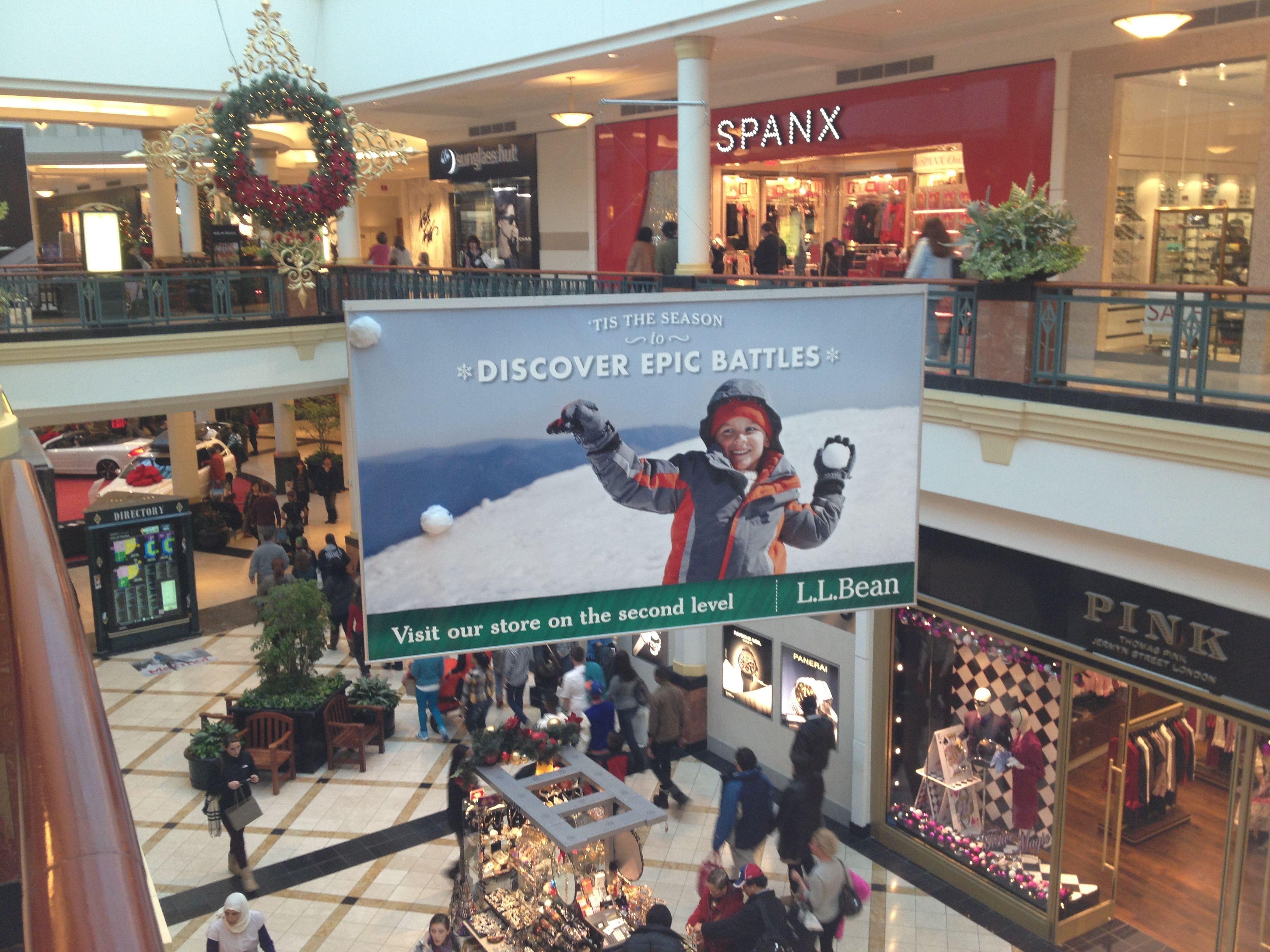 King of Prussia Mall Snowfight MallAdvertising LLBean