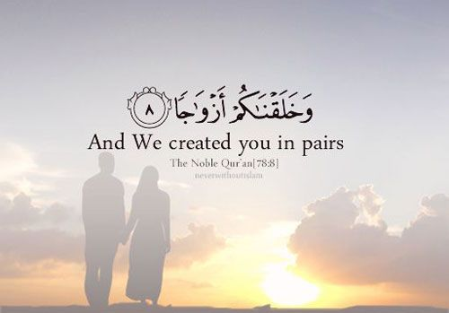 Islamic And Muslim Marriage Quotes Married Life Islamic Quotes