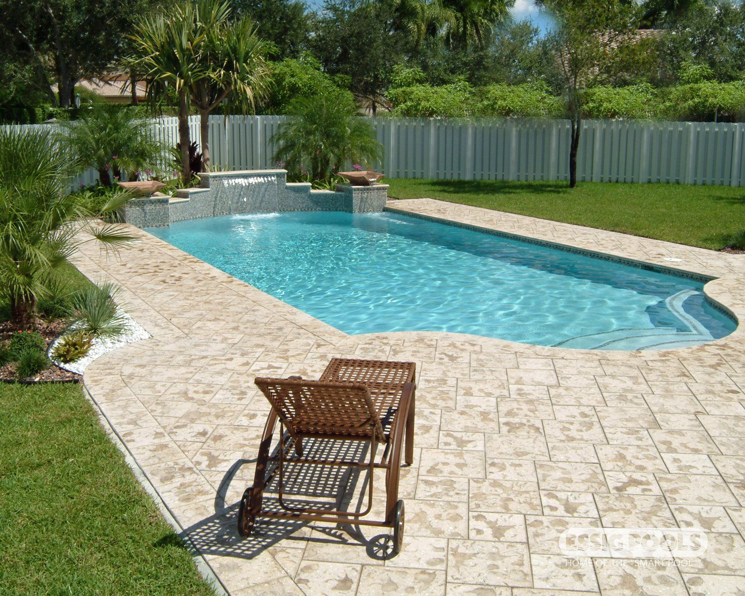deck by artistic paver mfg pool by essig pools see more at www