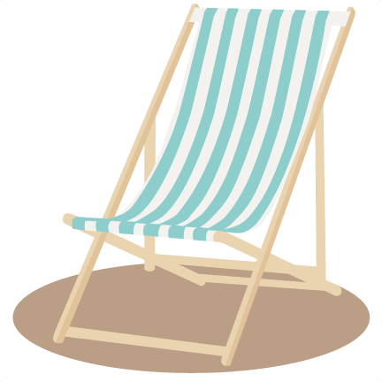 Beach Chair Svg Sbook Cut File Cute Clipart Files For Silhouette Cricut Pazzles Free Svgs Cuts
