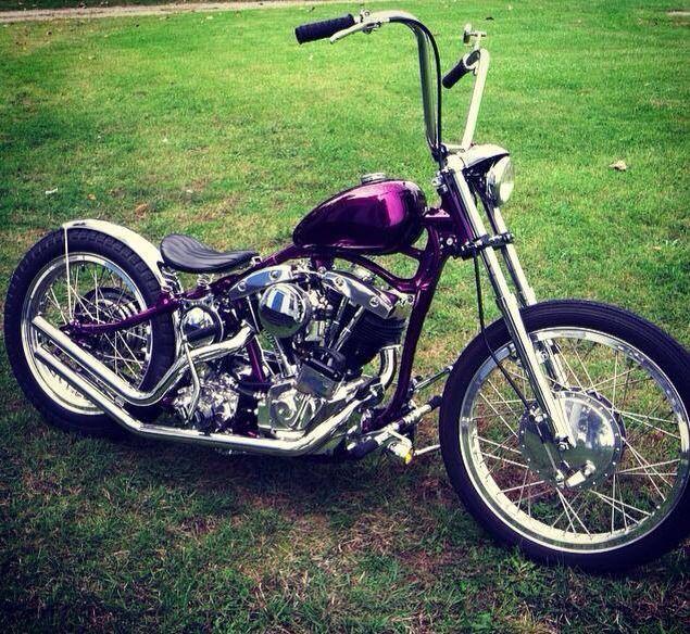 Chopper bobber cafe racer brst style harley davidson bsa ...
