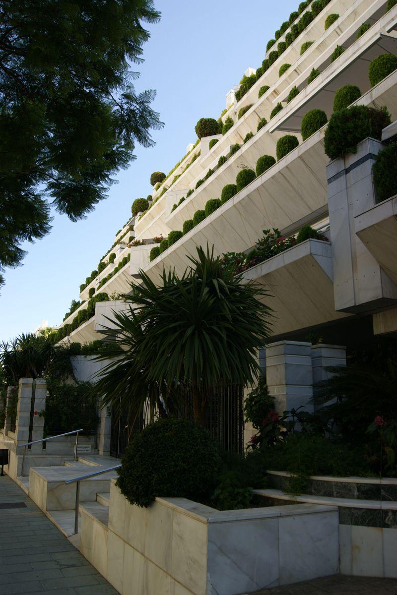 Edificio Comercial Y Hotel Marbella Arquitectura Edificios Marbella