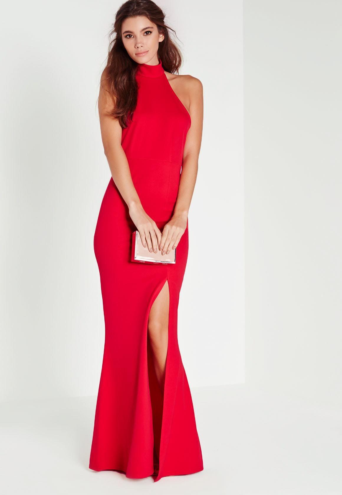 Choker Maxi Dress Red | Pinterest | Missguided, Choker and Maxi dresses