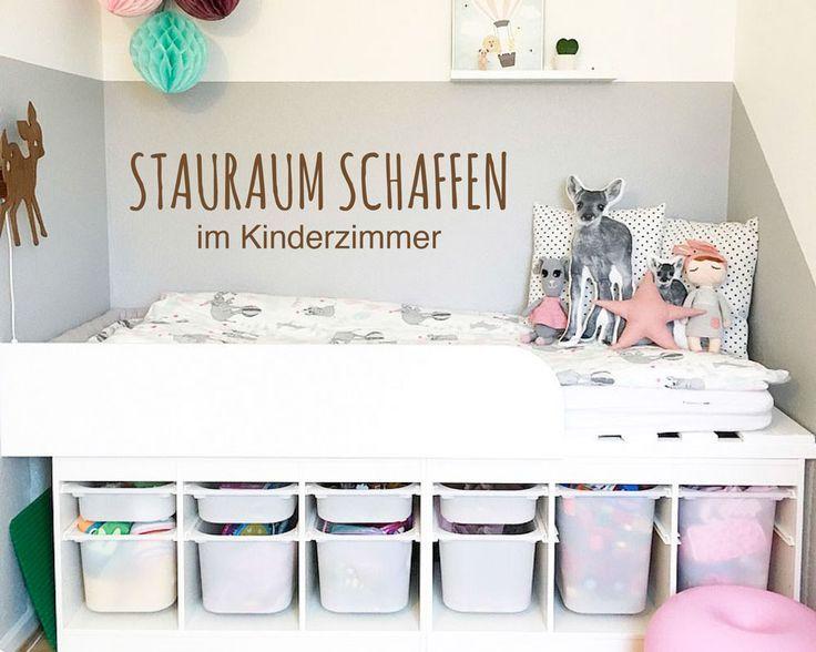 In Kinderzimmern Stauraum Schaffen   Das Geht Ganz Einfach Mit Einem Tollen  IKEA TROFAST Hack!